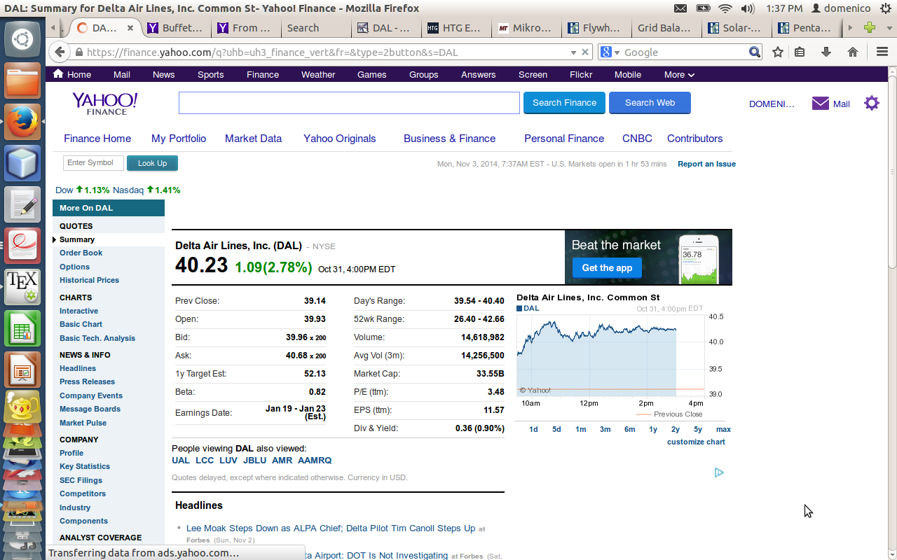 how to download stock data from yahoo finance